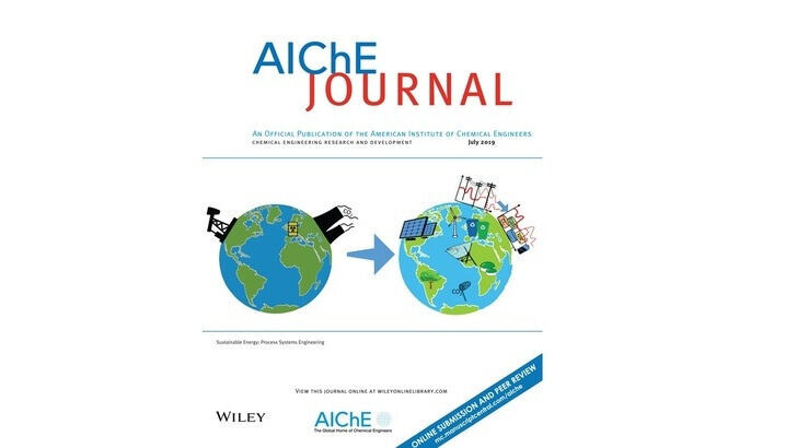 Cover of the AIChE journal special edition