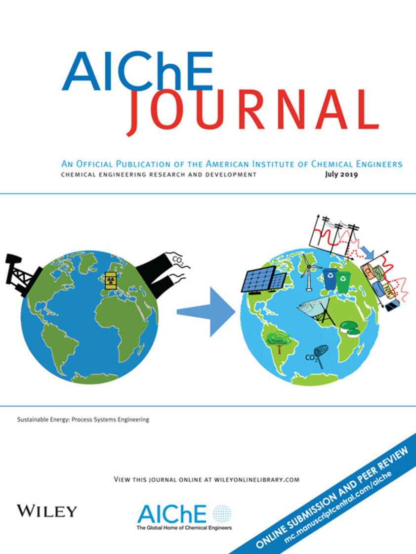 Cover of the AIChE Journal special issue
